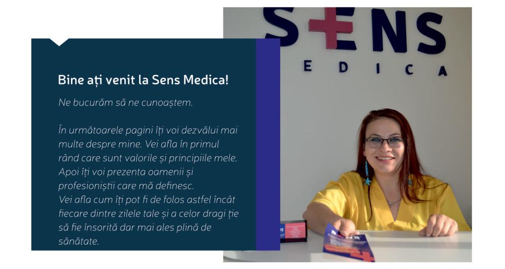 Centrul Sens Medica - clinică medicală din Cluj-Napoca, sala de recepţie